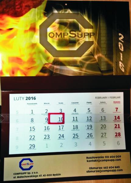 kalendarze terminarze