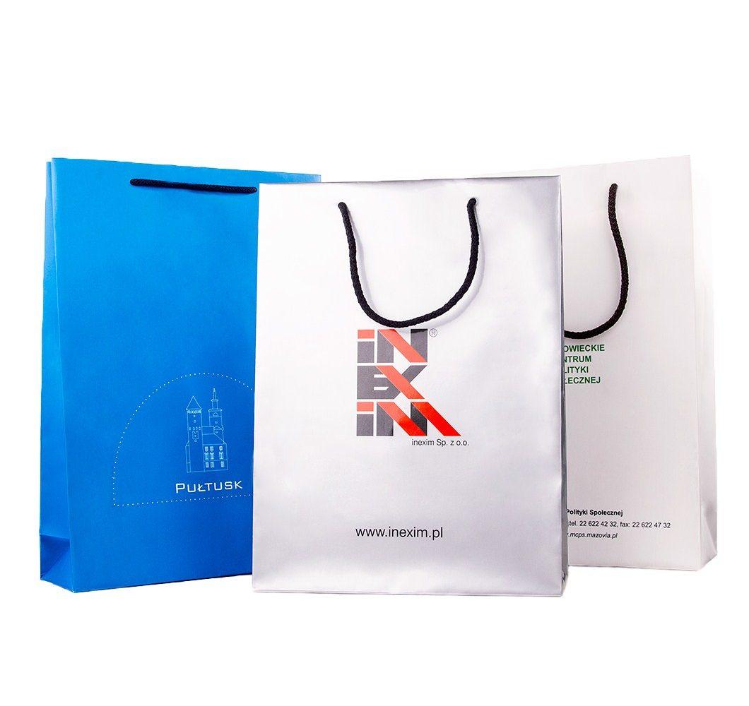 torby papierowe  nadrukiem