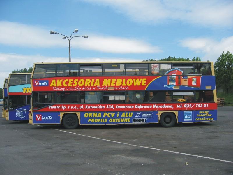 Reklama na busie