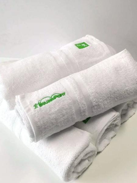 Haft na ręcznikach
